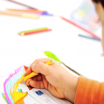 How to improve kids' coloring skills?